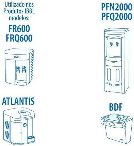 Refil Filtro Purificador de Água IBBL C+3  Original (Immaginare, Innovare, Evolux, FR600,PFN, Atlantis, PDF)