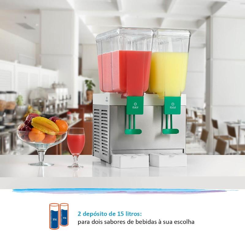 Refresqueira IBBL BBS2 Inox