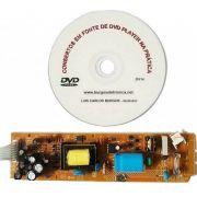 CONSERTOS EM FONTE DE DVD PLAYER NA PRÁTICA - DV14