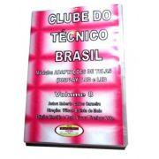 CURSO POR DOWNLOAD - CLUBE DO TÉCNICO BRASIL VOL. 8 - ADAPTAÇÕES DE TELAS DE TV LCD LED - DLCTB08