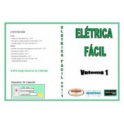INSTALAÇÕES ELÉTRICAS EM VÍDEO AULA - ELÉTRICA FÁCIL - VOLUME 1 - DVEF01