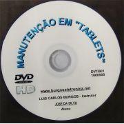 """MANUTENÇÃO EM """"TABLETS"""" EM VÍDEO AULA - DVTB01"""