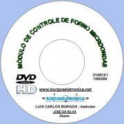 MÓDULO DE CONTROLE DE FORNO MICROONDAS EM VÍDEO AULA - DVMC01
