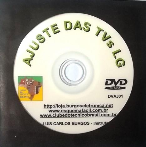 AJUSTES DOS TELEVISORES LG PELO MODO DE SERVIÇO EM VÍDEO AULA - DVAJ01