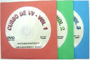 CURSO DE TV - FUNCIONAMENTO - TESTES - CONSERTOS - DVTV01 A 03