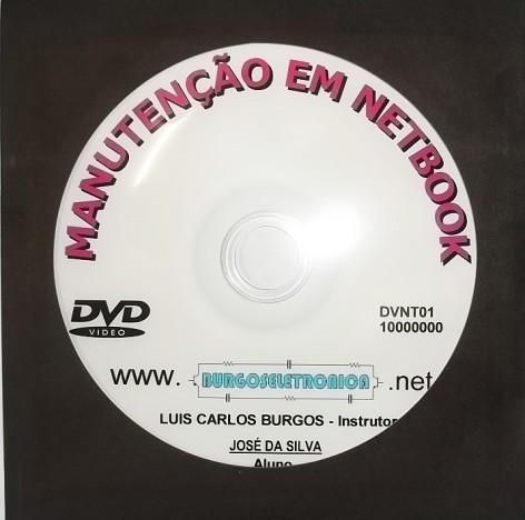 MANUTENÇÃO DE NETBOOK EM VÍDEO AULA - DVNT01