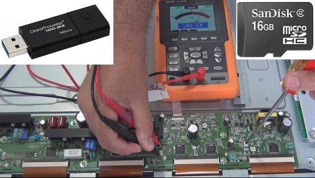 MANUTENÇÃO EM TELEVISORES PLASMA EM VÍDEO - DCPDP01 - PENDRIVE OU MICRO SD COM BRINDE
