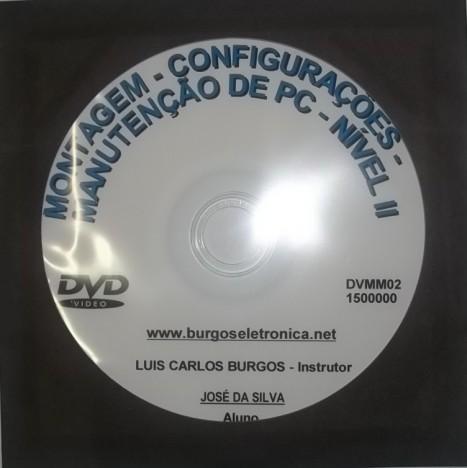 MONTAGEM, CONFIGURAÇÕES E MANUTENÇÃO DE COMPUTADORES NÍVEL II EM VÍDEO AULA – DVMM02