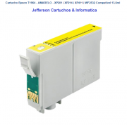 Cartucho Epson T1964 - AMARELO - Compatível 13,5ml
