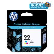 Cartucho HP 22 color 6ml C9352AB HP CX 1 UN