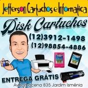 Recarga de Cartucho Praça Dr. Maurício Anisse Cury - Centro, São José dos Campos - SP Entrega Grátis (12)3912-1498 Watts (12) 98854-4886