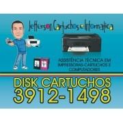 Recarga de Cartuchos Av. Heitor Villa Lobos, São José dos Campos - SP (12) 3912-1498 Watts (12)98854-4886