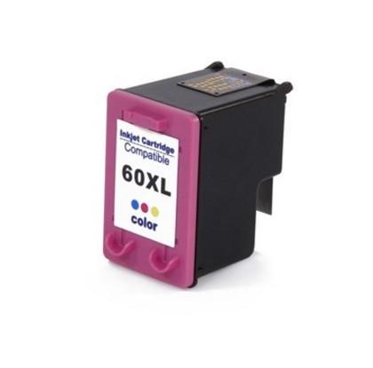 Cartucho HP 60XL Colorido Compatível