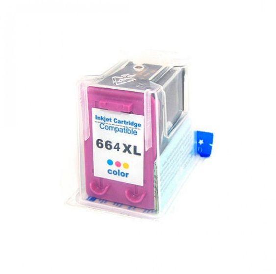 Cartucho HP 664 XL Colorido Compatível