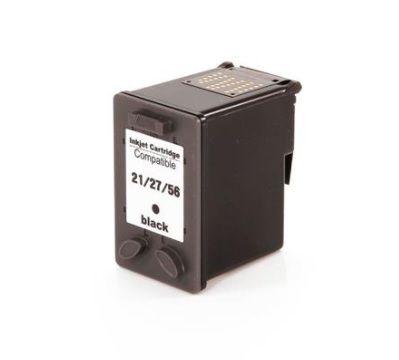 Cartucho de Tinta HP Preto Compatível 21 27 56