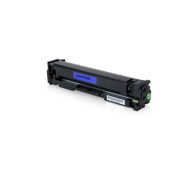 Cartucho de Toner HP CF401A 201A Ciano HP Laserjet Pro M252DW e HP Laserjet Pro M277DW