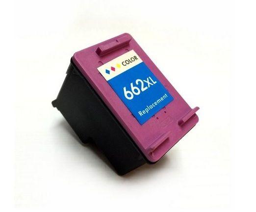 Cartucho HP 662XL Colorido Compatível