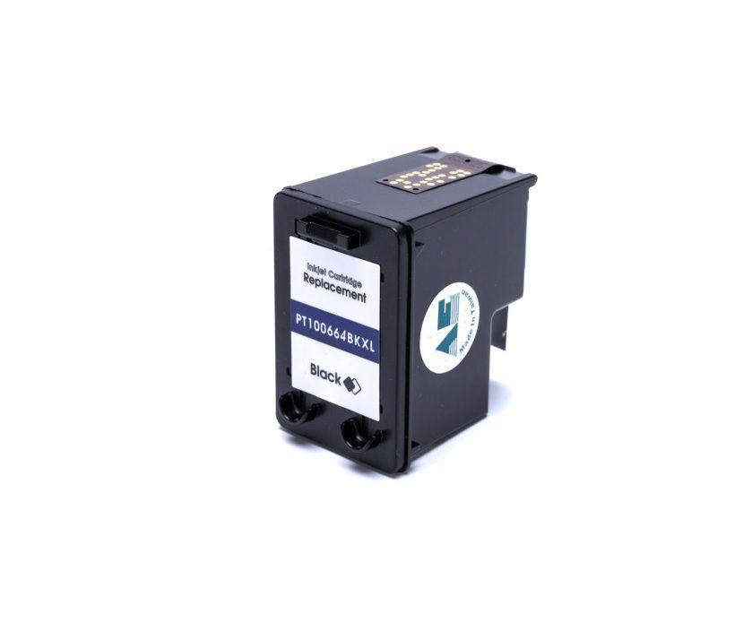 Cartucho HP 664XL DeskJet 1115 2136 3636 3836 3536 4676 preto compatível 14ML