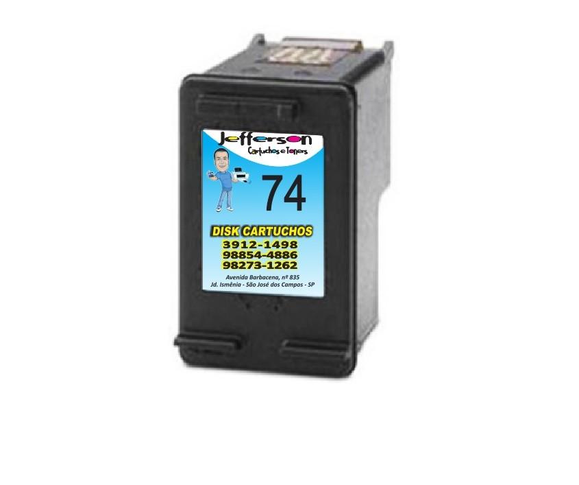Cartucho  Hp 74 Compativel novo