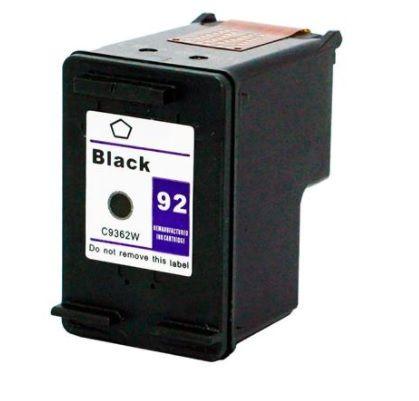 Cartucho HP 92 compatível Preto  Muito mais Tinta
