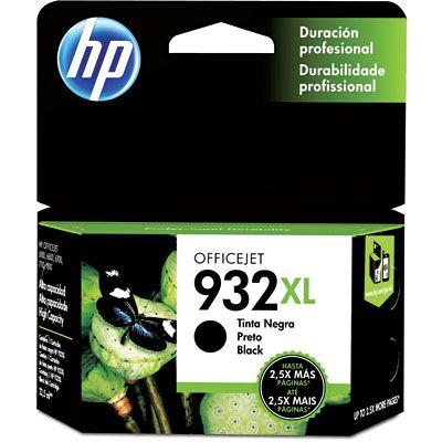 Cartucho HP 932XL preto CN053AL HP CX 1 UN ORIGINAL