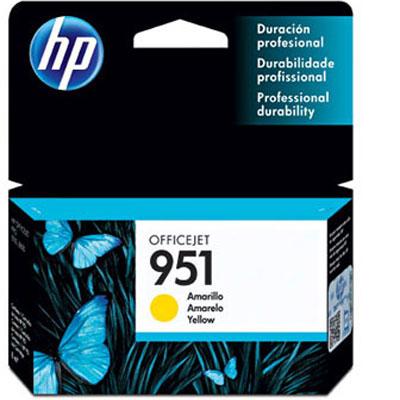 Cartucho HP 951 amarelo CN052AB HP CX 1 UN