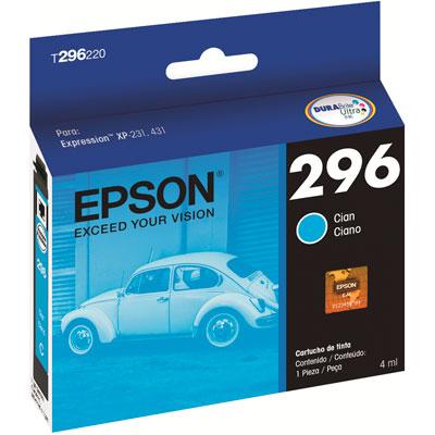 Cartucho Epson - 296 ciano T296220BR Epson CX 1 UN