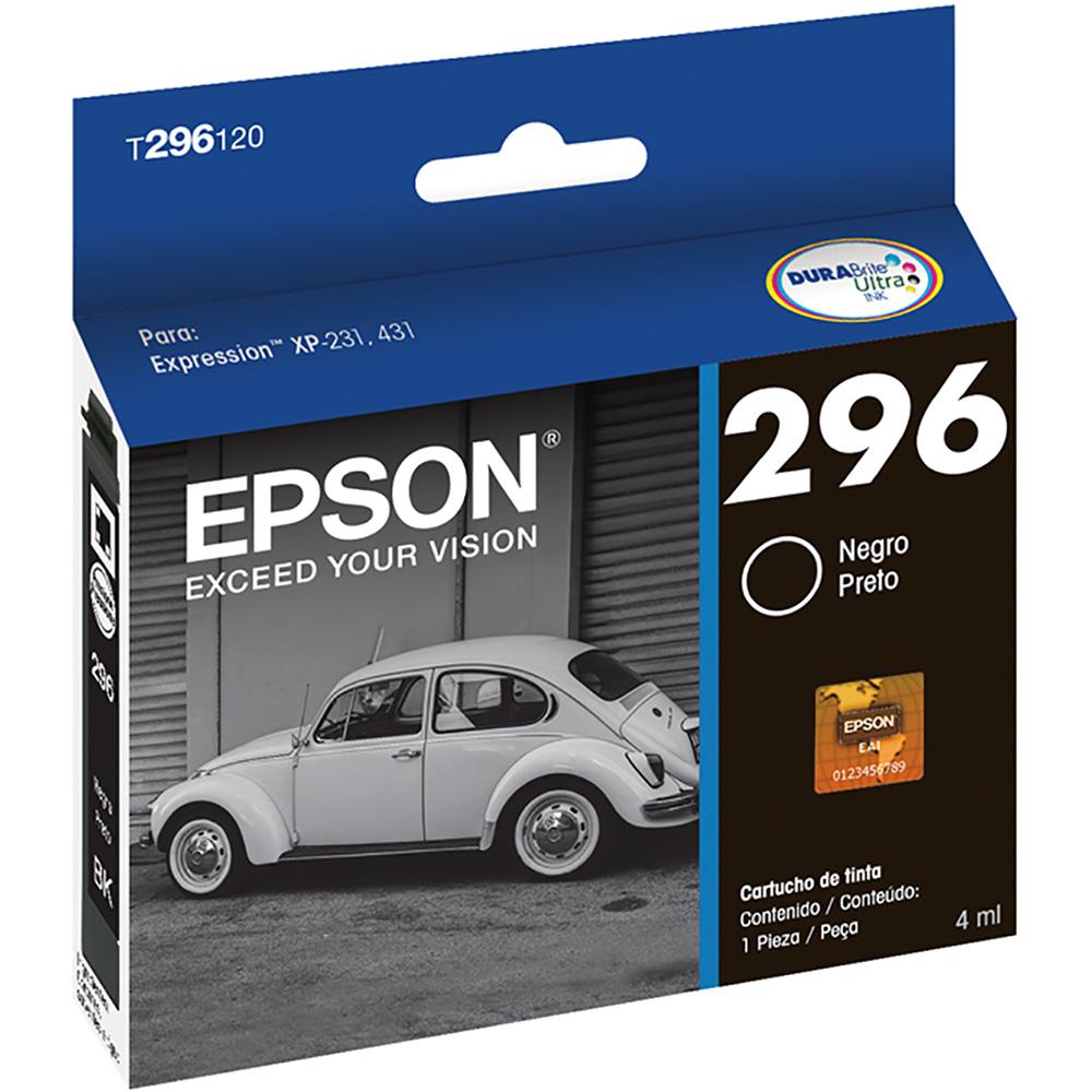 Cartucho p/Expression preto T296120BR Epson CX 1 UN