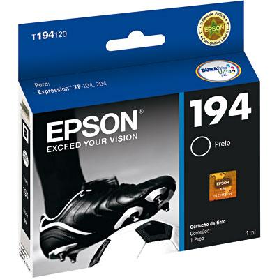 Cartucho Epson - 194 preto T194120BR Epson CX 1 UN