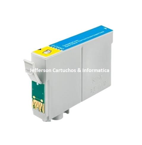 Cartucho Epson TO732  Ciano Compatível