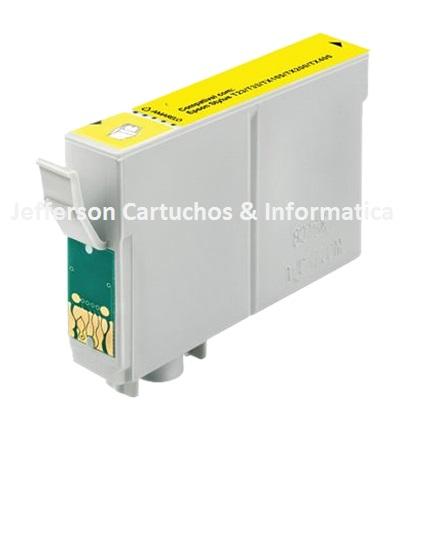 Cartucho Epson -734  AMARELO   T0734  Compatível - 10ml
