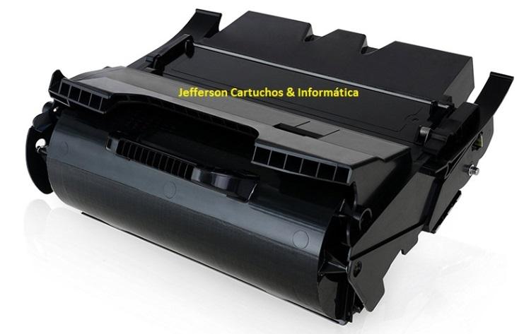 Toner Lexmark T640 Compatível para 21.000 páginas
