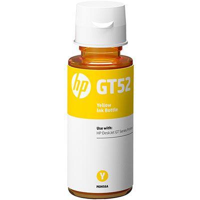 Garrafa de tinta GT52 amarelo M0H56AL HP