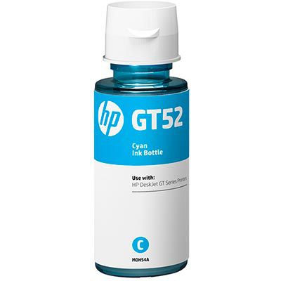 Garrafa de tinta GT52 ciano M0H54AL HP