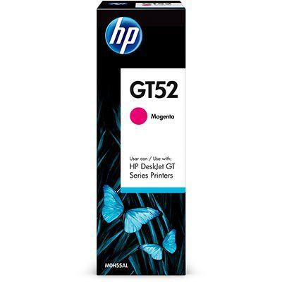 Garrafa de tinta GT52 magenta M0H55AL HP