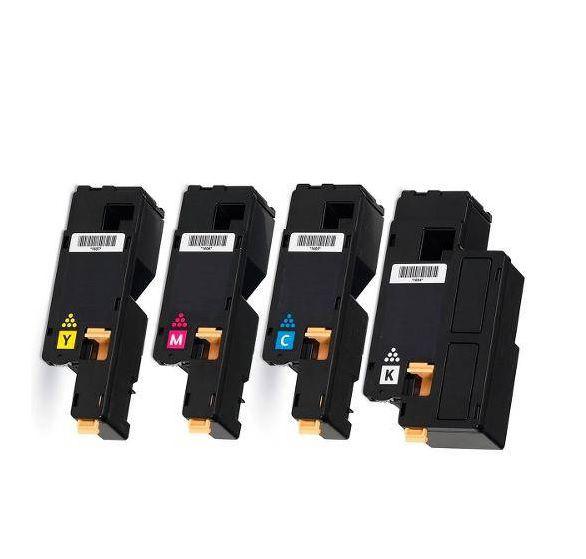 Novo Lacrado Kit Color 4 Cores Toner Xerox Phaser 6000 6010