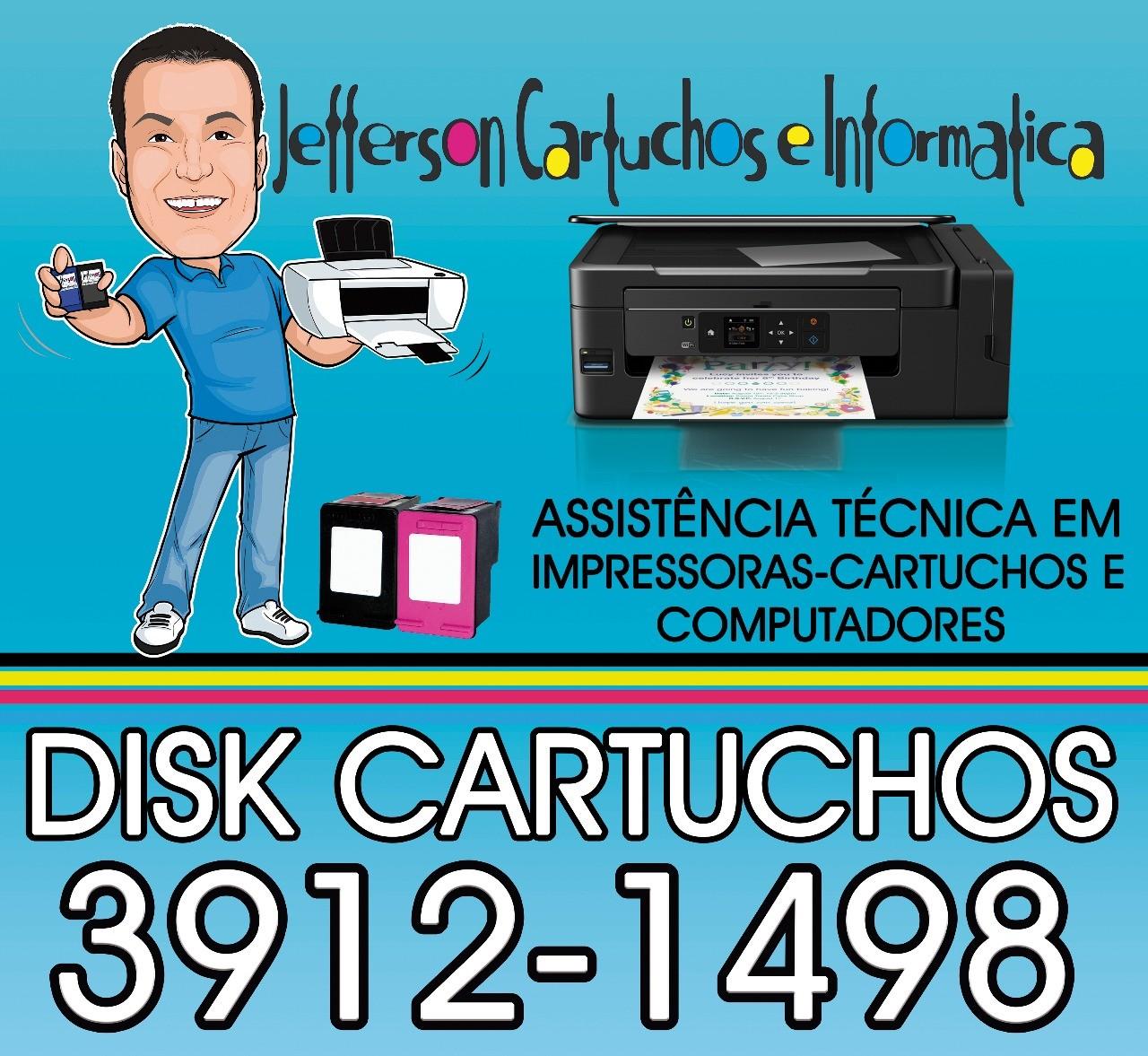 Recarga de cartucho Av. Andrômeda, São José dos Campos - SP (12) 3912-1498 Watts (12) 98854-4886