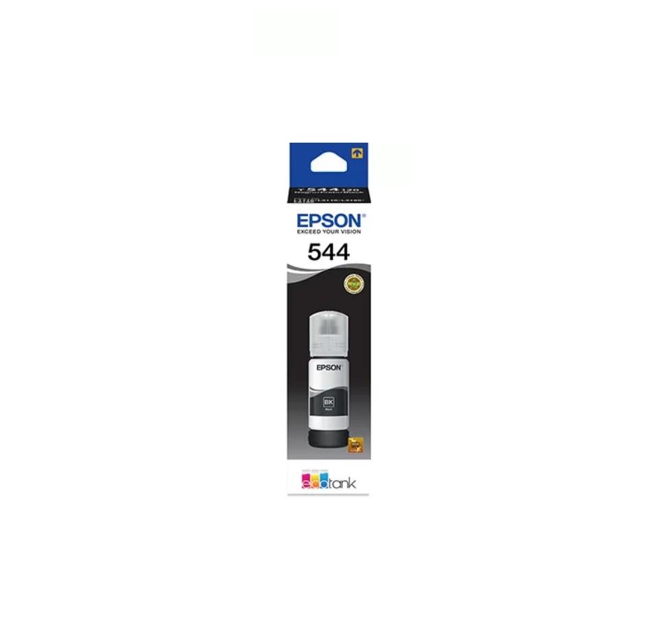 Tinta para impressora Epson L-3110 L-3150 T544120AL T 544 Preta