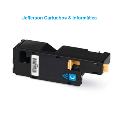 Toner Compatível Xerox Phaser 6000 6010 6015 | 106R01631 Ciano | Premium 1k
