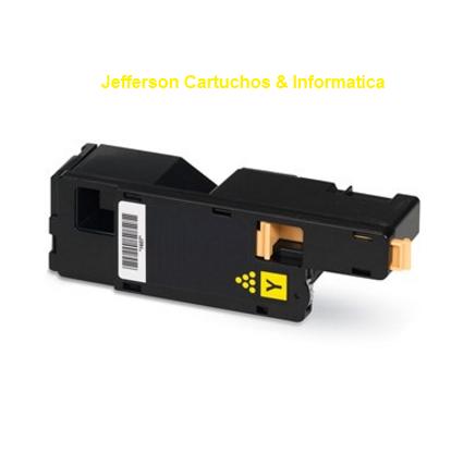 Toner Compatível Xerox Phaser 6000 6010 6015 - 106R01633 Amarelo - 1k