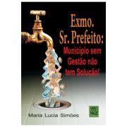EXMO. SR.PREFEITO: MUNICÍPIO SEM GESTÃO NÃO TEM SOLUÇÃO!, Maria Lúcia Simões