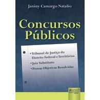 Concursos Públicos: TJDF e Territórios, 1a.ed., 2011