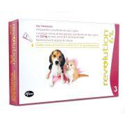 Antipulgas e Carrapatos Zoetis Revolution 6% para Cães e Gatos até 2,5 kg - 15 mg