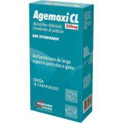 Antibiótico Agener União Agemoxi CL 250mg 10 comprimidos