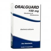 Antimicrobiano Cepav Oralguard 150mg 14 Comprimidos