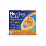 Antipulgas e Carrapatos NexGard Spectra Cães de 2 a 3,5 Kg 1 Tablete