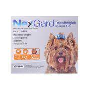 Antipulgas Nexgard para Cães de 2 a 4kg Merial com 3 Tabletes