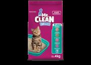 Areia Granulado Sanitario Mr Clean Floral 4kg