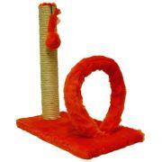 Arranhador Cat Arco Retangular Vermelho 40x20cm