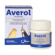 Averol Antimicrobiano Para Pássaros Em Geral 50g